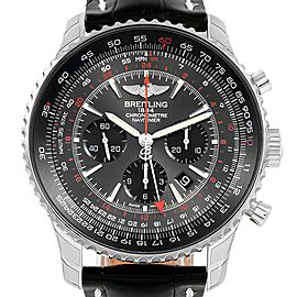 Breitling Navitimer GMT Stratos Grey Limited Edition Watch AB0441 Unworn