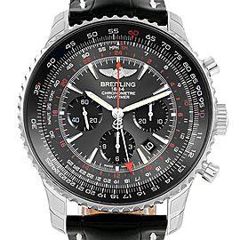 Breitling Navitimer GMT Stratos Grey Limited Edition Watch AB0441 Unworn