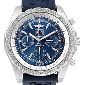 Breitling Bentley Motors Blue Dial Chronograph Watch A44362