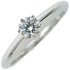 Tiffany & Co. 0.22ct Platinum Diamond Solitaire Ring