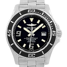 Breitling Aeromarine Superocean 44 Steel Mens Watch A17391 Papers