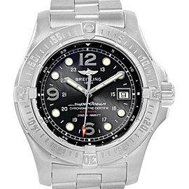 Breitling Aeromarine Superocean Steelfish Mens Watch A17390 Papers