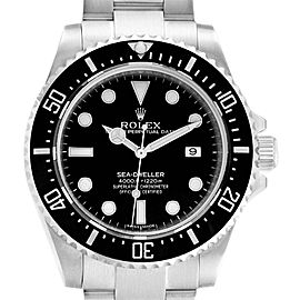 Rolex Seadweller 4000 Automatic Steel Mens Watch 116600 Box Card