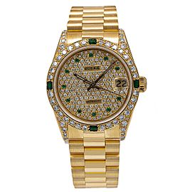Rolex Datejust 68278 31mm Womens Watch