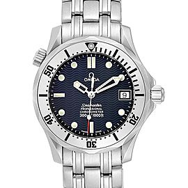 Omega Seamaster Midsize 36 Blue Dial Automatic Steel Watch 2552.80.00