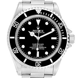 Rolex Submariner No Date 4 Liner Steel Steel Mens Watch 14060