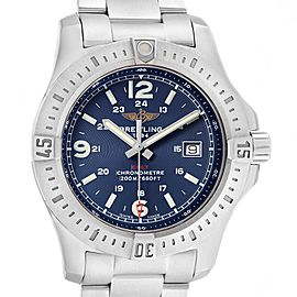 Breitling Colt Blue Dial Stainless Steel Mens Watch A74388