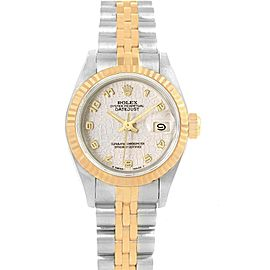 Rolex Datejust 26 Steel Yellow Gold Anniversary Dial Ladies Watch 69173