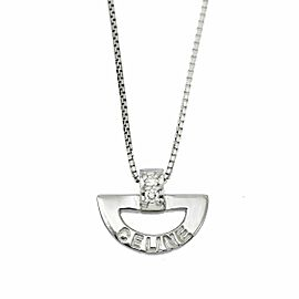 CELINE Platinum Diamond Necklace