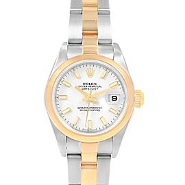 Rolex Datejust 26 Steel Yellow Gold Ladies Watch 79163 Box Papers