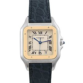Cartier Panthere Large Steel Yellow Gold Unisex Unisex Watch W25028B6