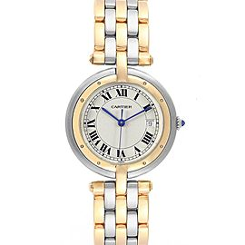 Cartier Panthere Vendome Midsize Steel Yellow Gold Ladies Watch 183964