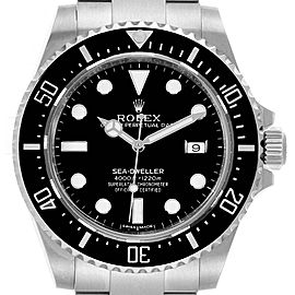 Rolex Seadweller 4000 Stainless Steel Mens Date Watch 116600