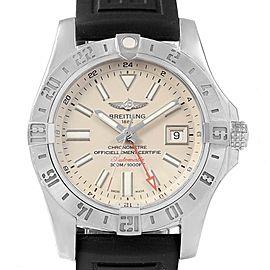 Breitling Aeromarine Avenger II GMT Cream Dial Watch A32390