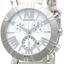 Tiffany & Co. Atlas Z1301.32.11A20A71A Stainless Steel / Ceramic Quartz 36mm Womens Watch
