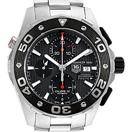 Tag Heuer Aquaracer 500 Oracle Team Cronograph Mens Watch CAJ2112