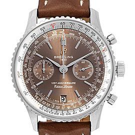 Breitling Navitimer 125th Anniversary LE Mens Watch A26322 Box