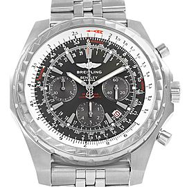Breitling Bentley Motors T Grey Dial Chronograph Watch A25363 Box