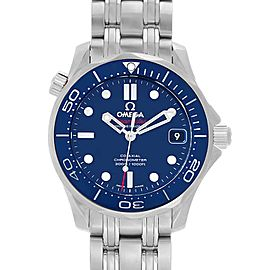 Omega Seamaster Midsize 36mm Co-Axial Watch 212.30.36.20.03.001 Box Card