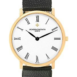Vacheron Constantin Patrimony Yellow Gold Ultra Thin Mens Watch 31160