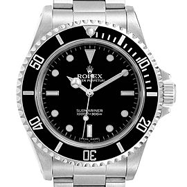 Rolex Submariner 40mm 2-Liner Automatic Steel Mens Watch 14060