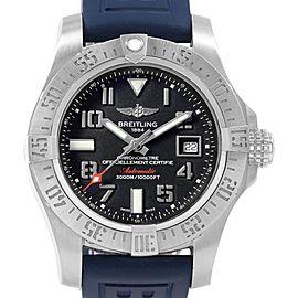 Breitling Aeromarine Avenger II Seawolf Watch A17331 Mens Box Papers