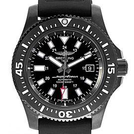 Breitling Superocean 44 Special Blacksteel Mens Watch M17393 Box Papers