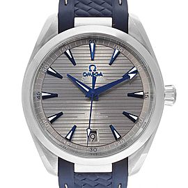Omega Seamaster Aqua Terra Grey Dial Watch 220.12.41.21.06.001 Box Card