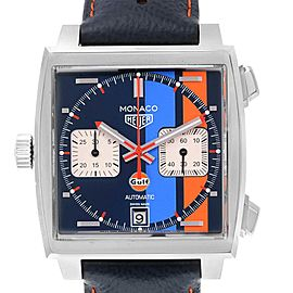 Tag Heuer Monaco Gulf 2018 Chronograph Mens Watch CAW211R Unworn