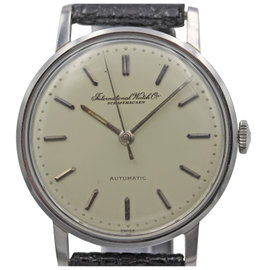 IWC Schaffhausen Automatic Stainless Steel Men's Vintage Watch