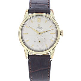 Omega Seamaster 2576-7 Sub-Second Gold Plated Men's Watch