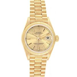 Rolex President Datejust 26 18K Yellow Gold Ladies Watch 69278