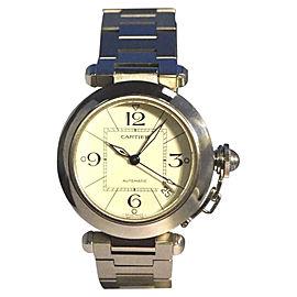Cartier Pasha De 2324 Stainless Steel 35mm Unisex Watch