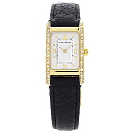 Baume & Mercier 3730869 18K Yellow Gold Womens Watch