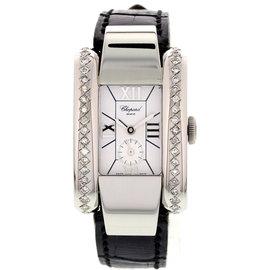 Chopard La Strada 41/8357 Stainless Steel & Diamonds Womens Watch