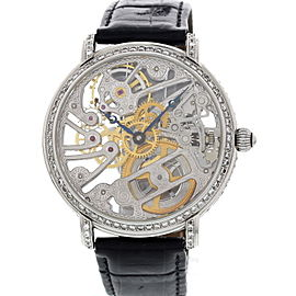 Maurice Lacroix 16807 Diamonds Masterpiece Skeleton Mens Watch
