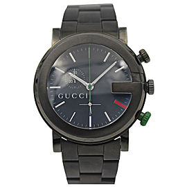 Gucci G Chrono YA101331 Stainless Steel Quartz Mens Watch
