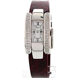 Chopard La Strada 4331 18K White Gold Diamond 18 mm Watch