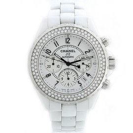 Chanel J12 L.K.91739 White Ceramic Automatic 41mm Unisex Watch