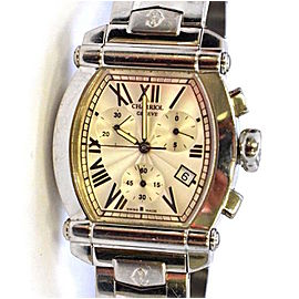 Charriol Columbus 060T2 Chrono Mother Of Pearl Dial 34mm Unisex Watch