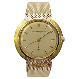 Audemars Piguet 18K Yellow Gold Unisex Wristwatch