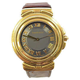 Tiffany & Co. 18K Yellow Gold 26mm Womens Watch