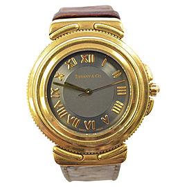 Tiffany & Co. 18K Yellow Gold 26mm Womens Watch