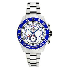 Rolex Yachtmaster 2 116680 Stainless Steel 44mm Mens Watch