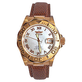 Invicta Professional Stainless Steel Mother of Pearl Automatic 40mm Mens Watch