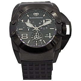 TechnoMarine 08108908 PVD Coated Stainless Steel & Rubber Automatic 43mm Mens Watch