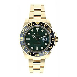 Rolex GMT Master II 116718 18K Yellow Gold & Stainless Steel 40MM Watch