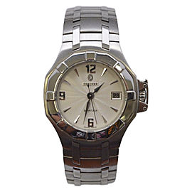 Concord Saratoga Stainless Steel Swiss Quartz 37.5mm Mens Watch
