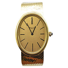 Piaget 18K Gold with Gold Band 29mm Automatic Womens Watch