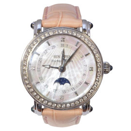 Maurice Lacroix Les Classiques Stainless Steel & Mother of Pearl Dial 34mm Womens Watch